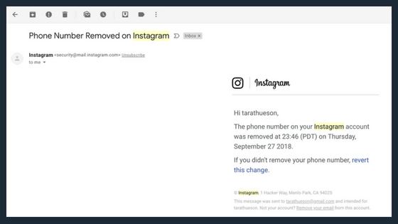 How to move photos from email to instagram