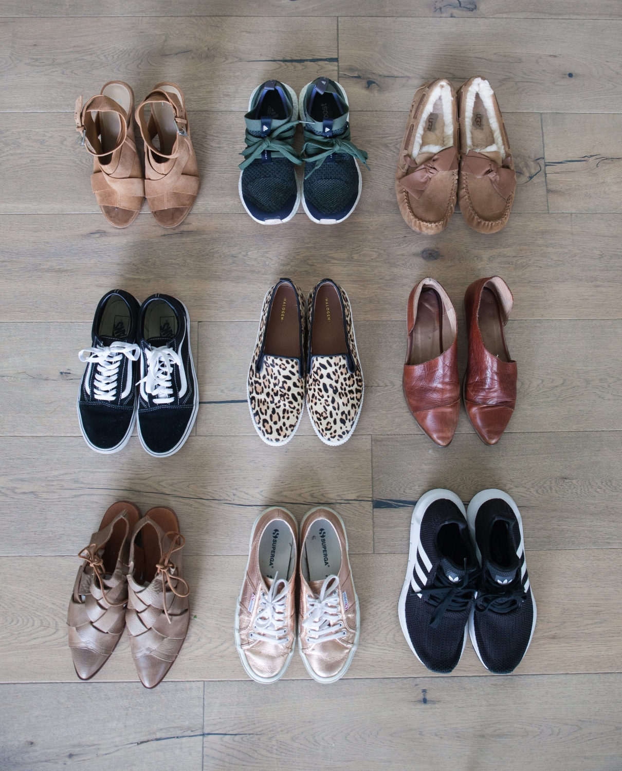Top 9 pairs of shoes