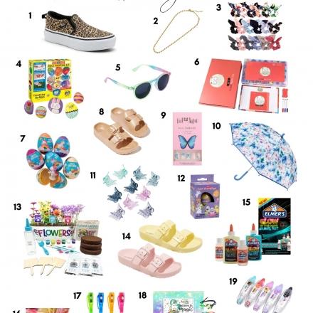 Easter Basket Gift Guide for Girls