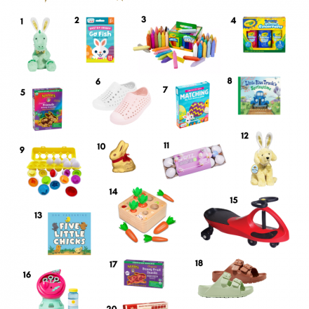 Baby and Toddler Easter Basket Stuffer Ideas