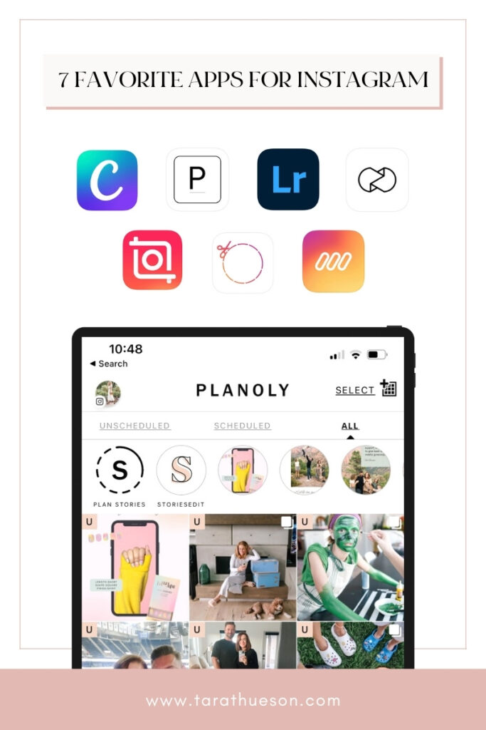 Tech Tuesday: 7 Favorite Apps to use for Instagram