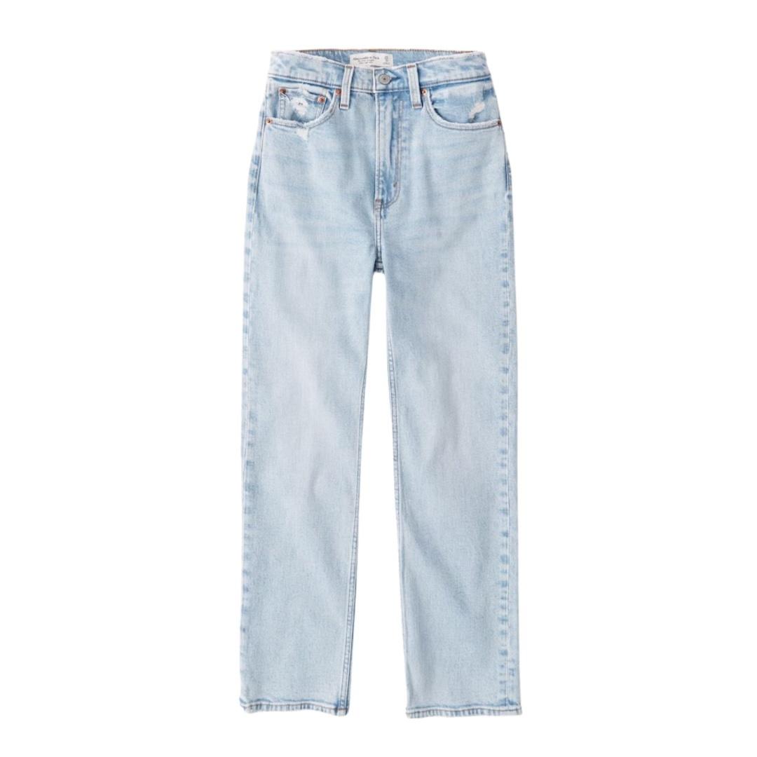 High Rise Straight Leg Jeans