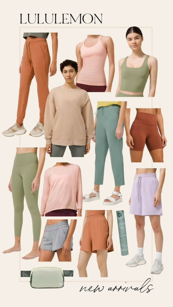 Lululemon New Arrivals