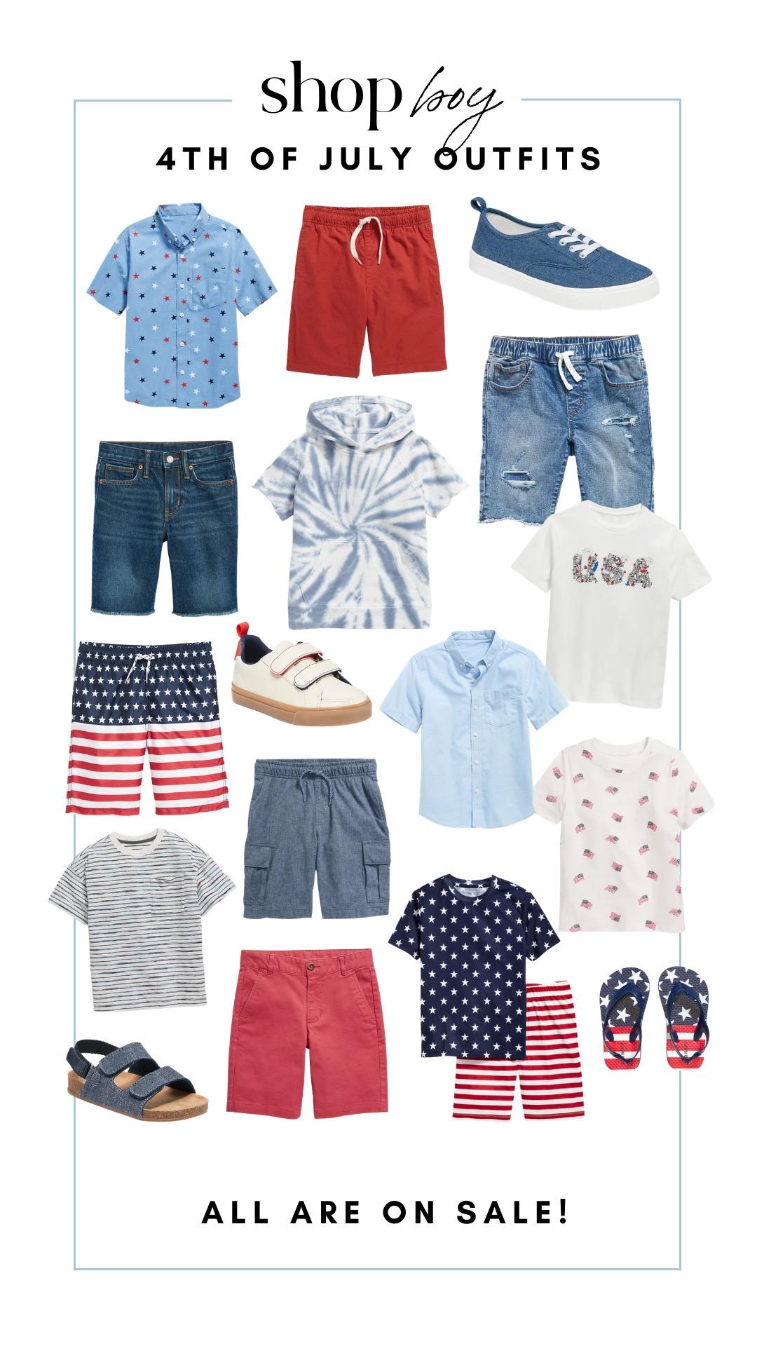4th of July – BOYS!