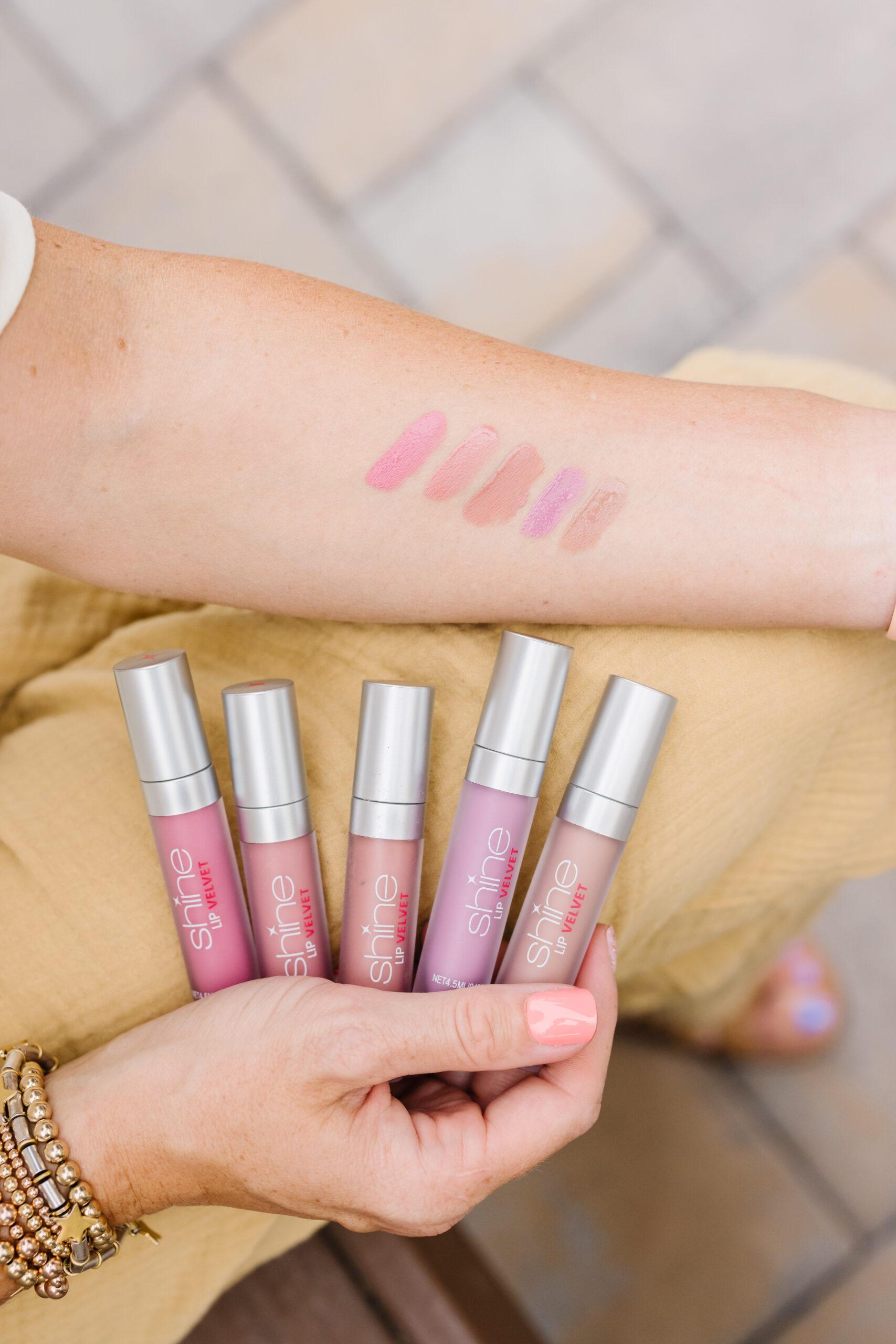 shine lip velvet launch