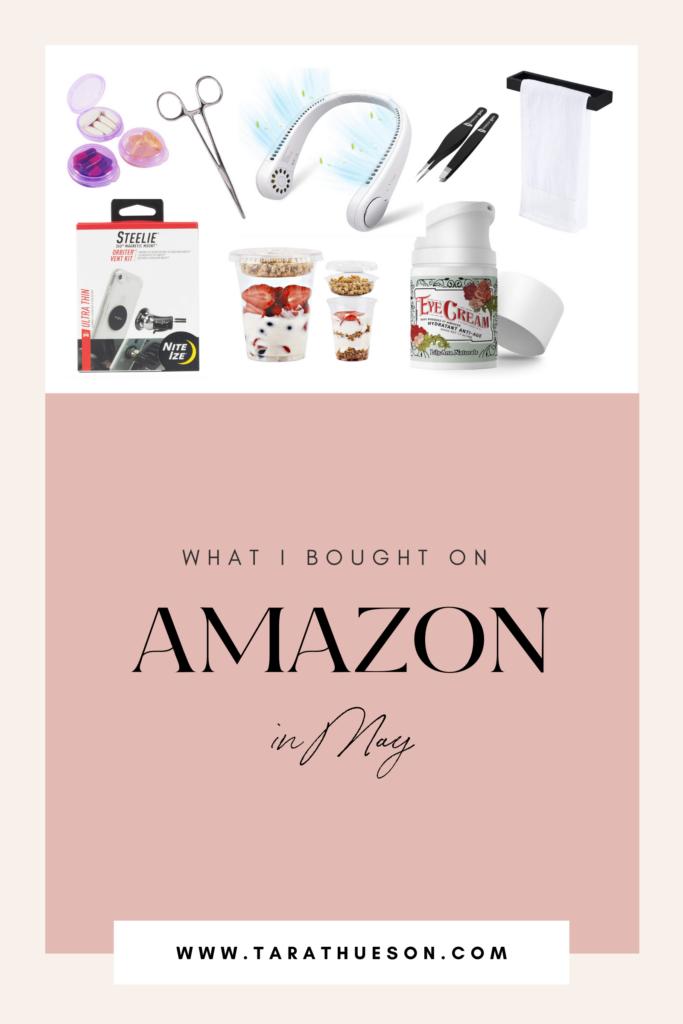 Amazon Purchases May 2021