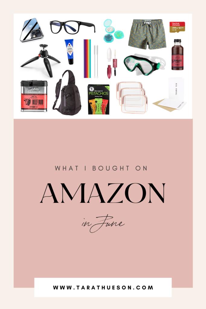 June '21 Amazon Purchases