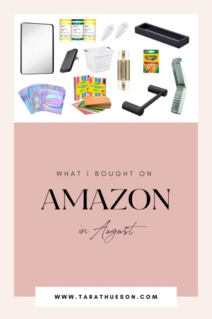 August Amazon