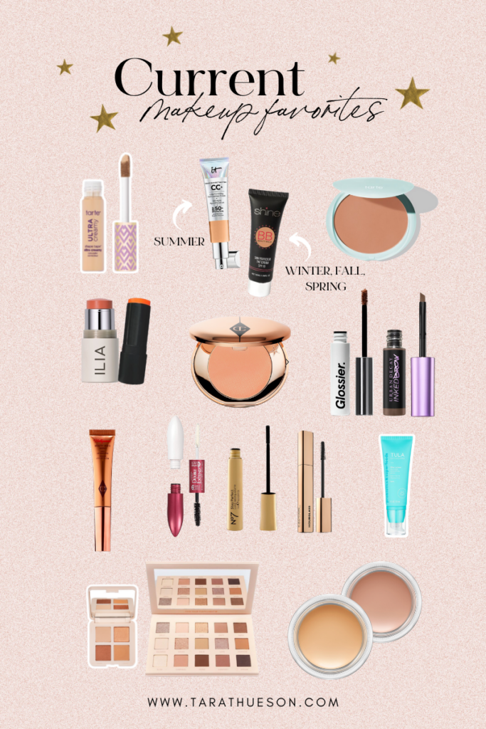 Current Makeup Favorites